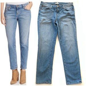 Eileen Fisher   Light Rinse Boyfriend Jeans Size 8